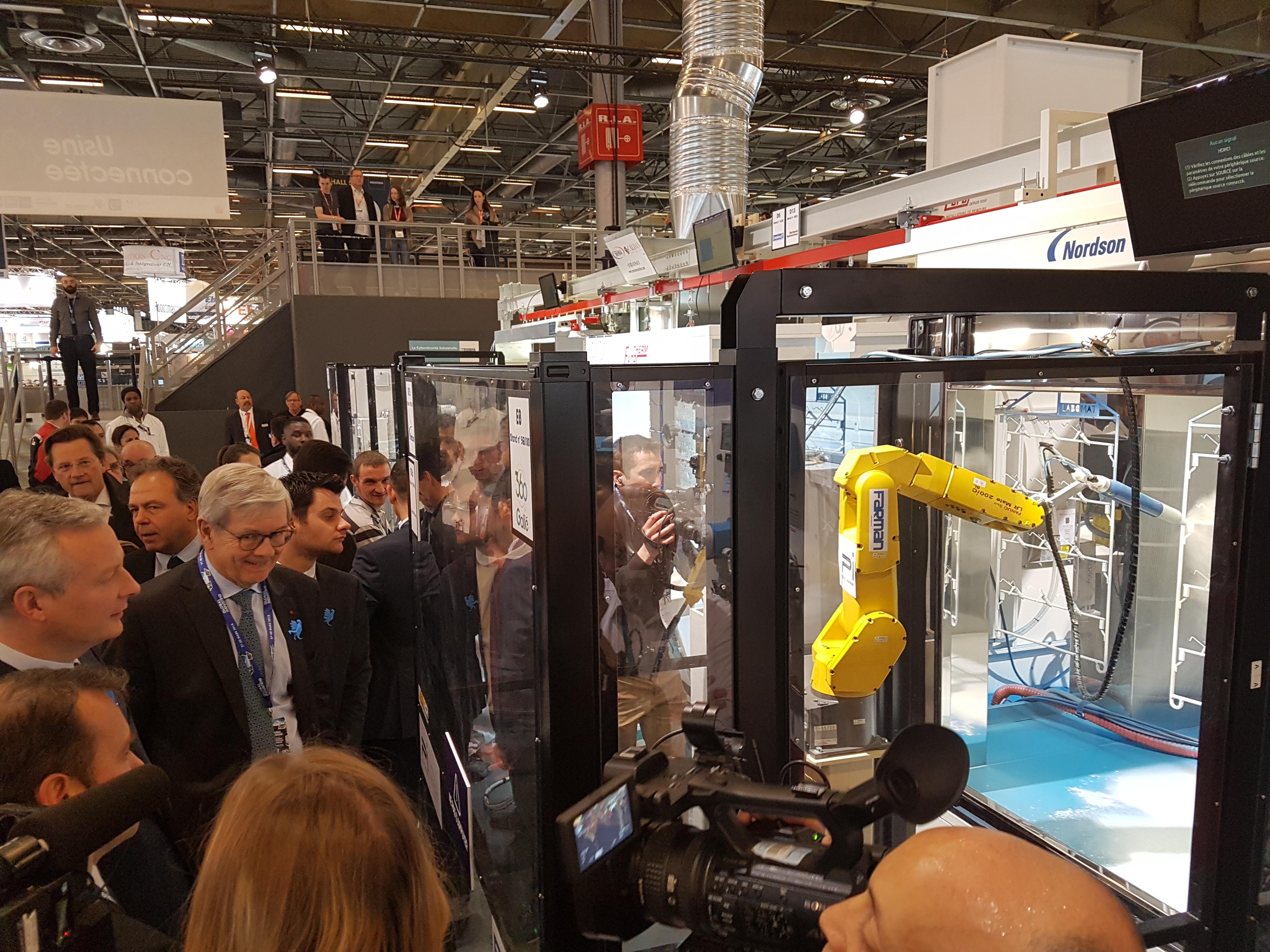 Salon global industrie paris pi system automation - Salon de l industrie paris ...